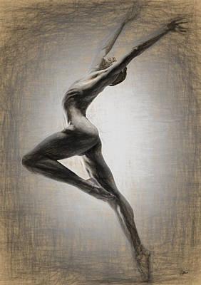 Danza Apasionada Art Print by Joaquin Abella