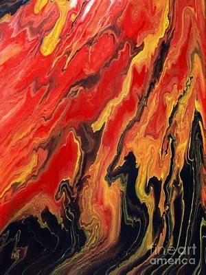 Painting - Danza Del Fuoco by Lon Chaffin