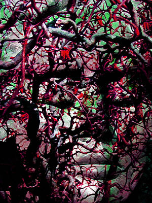 Transformation Mixed Media - Daphne Agony by Angelina Vick