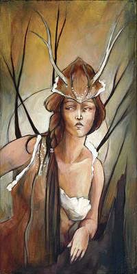 Daphne Art Print by Jacque Hudson