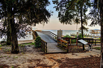 Photograph - Daphne Water Front Park by Michael Thomas
