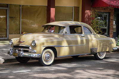 Photograph - Dappled Chevy by Bill Dutting