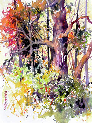 Painting - Dappled Glow by Rae Andrews