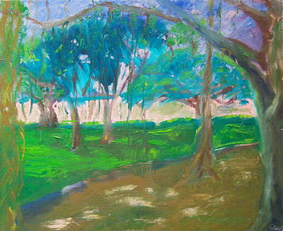 Painting - Dappled Light by Dennis Goodbee