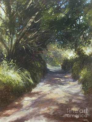 Painting - Dappled Light by Valerie Travers