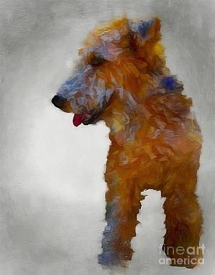Superhero Ice Pop - Darby Dog by John Kolenberg