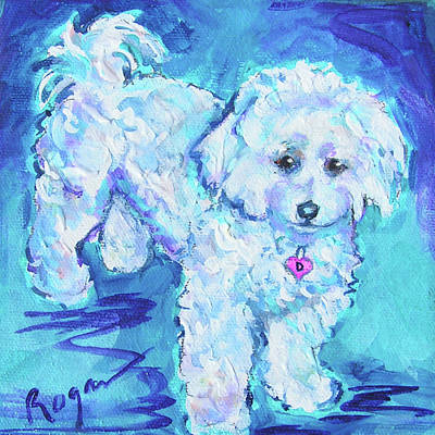 Painting - Darby by Judy Rogan