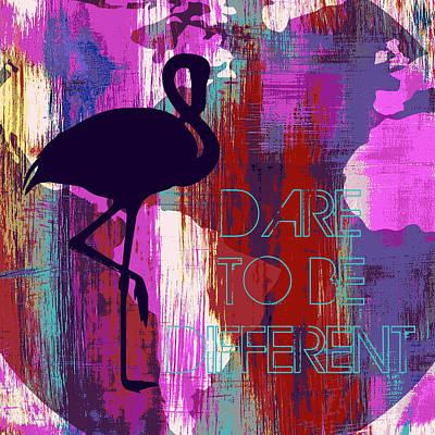 Dare To Be Different Art Print by Brandi Fitzgerald