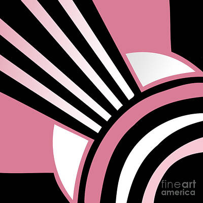 Daring Deco I Art Print by Mindy Sommers