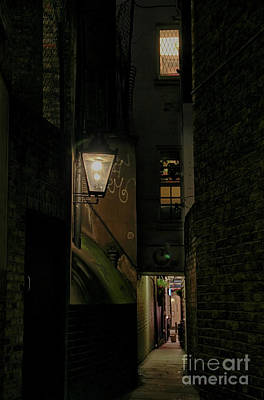Photograph - Dark Alley London by Jasna Buncic