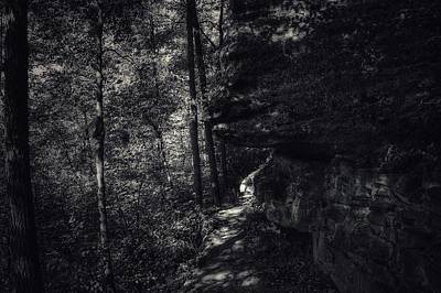Kinzua Photograph - Dark And Deep by Shelley Smith