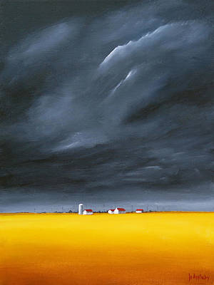 Painting - Dark And Stormy by Jo Appleby