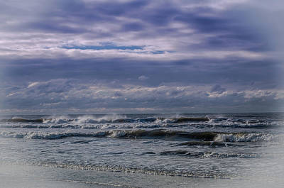Photograph - Dark And Stormy Surf by Gerald Monaco