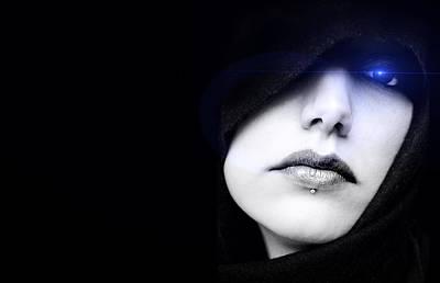 Digital Art - Dark Angel by ISAW Company