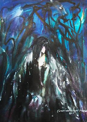 Painting - Dark Angle by Wanvisa Klawklean