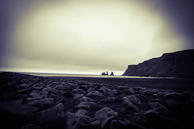 Photograph - Dark Beach by Perggals - Stacey Turner