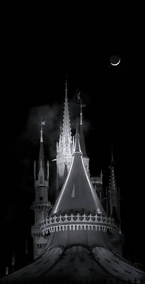 Art Print featuring the photograph Dark Castle by Mark Andrew Thomas
