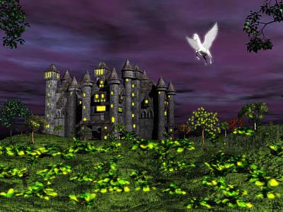 Photograph - Dark Castle by Mark Blauhoefer