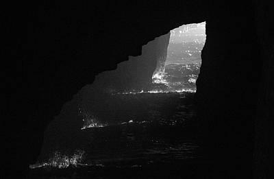 Photograph - Dark Cave by Jonny D
