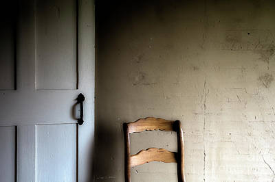 Photograph - Dark Chair Olson House by Craig J Satterlee