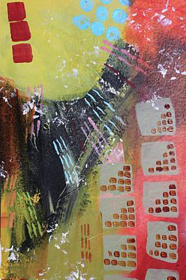 Painting - Dark City by April Burton