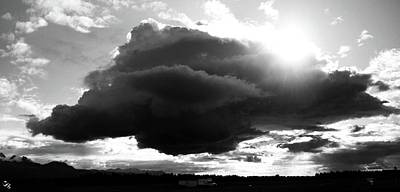 Photograph - Dark Cloud by Ron Bissett