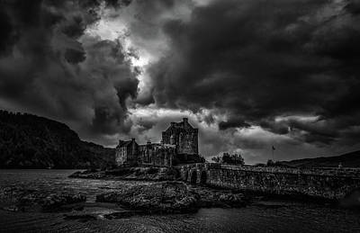 Photograph - Dark Clouds Bw #h2 by Leif Sohlman