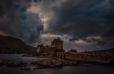 Photograph - Dark Clouds #h2 by Leif Sohlman