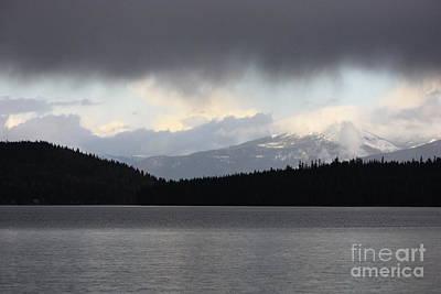 Photograph - Dark Clouds Lifting by Carol Groenen
