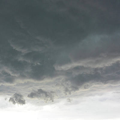 Dark Clouds Art Print by Mikael Sandblom