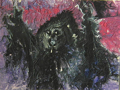 Conjuror Painting - Dark Conjurings by Mimulux patricia no No