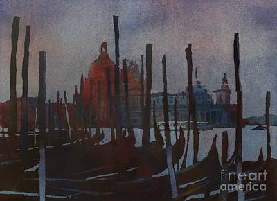 Religious Artist Painting - Dark Day In Venice by Ryan Fox