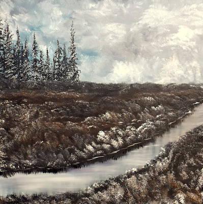 Painting - Dark Days by Lisa Aerts