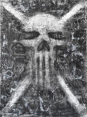 Dark Departure Art Print by Roseanne Jones