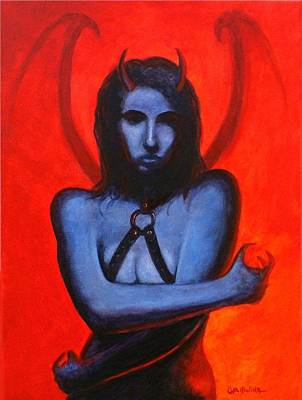 Painting - Dark Desire by Al  Molina