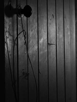 Photograph - Dark Door by Mark Blauhoefer