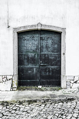Dark Door With No Number Original