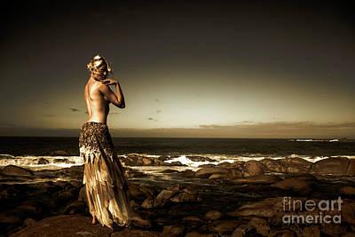Human Body Wall Art - Photograph - Dark Dramatic Fine Art Beauty by Jorgo Photography - Wall Art Gallery