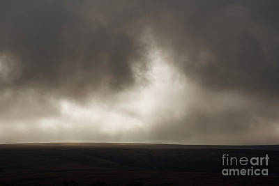 Photograph - Dark Dramatic Sky by Clayton Bastiani