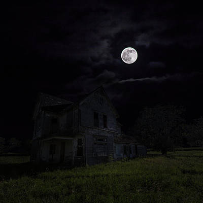 Dark Embrace Art Print by Aaron J Groen