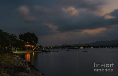Photograph - Dark Evening by Michelle Meenawong