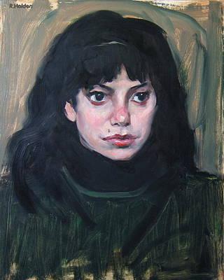 Painting - Dark-eyed Beauty by Robert Holden