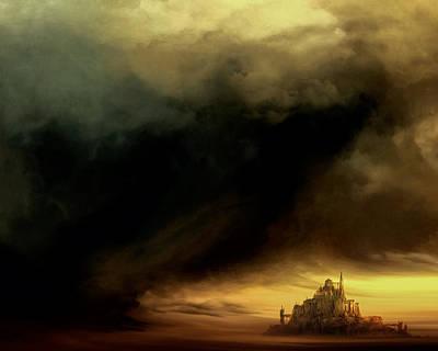 Nonrepresentational Digital Art - Dark Fantasy by Lonnie Christopher