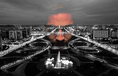 Photograph - Dark Forces Controlling The City by ISAW Gallery