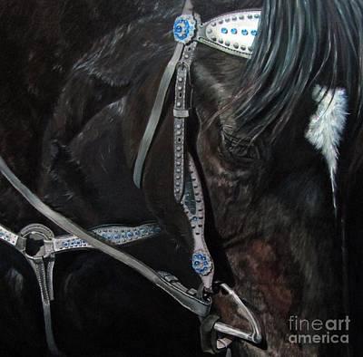 Painting - Dark Gem by Heidi Parmelee-Pratt