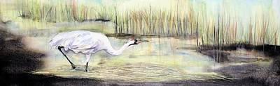 Painting - Dark Grasses by Vicky Lilla