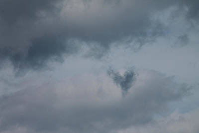 Photograph - Dark Heart Cloud by Cathie Douglas