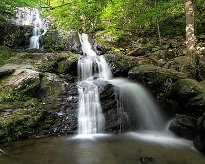 Photograph - Dark Hollow Falls Horizontal by Jemmy Archer