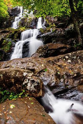 Photograph - Dark Hollow Falls In Shenandoah by Vishwanath Bhat