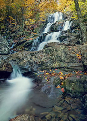 Wall Art - Photograph - Dark Hollow Falls, Shenandoah National Park by Martin Belan